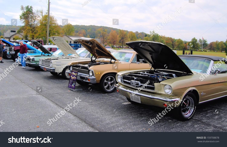 Cascade Md October 19 Vintage Cars Stock Photo 159708878 - Shutterstock