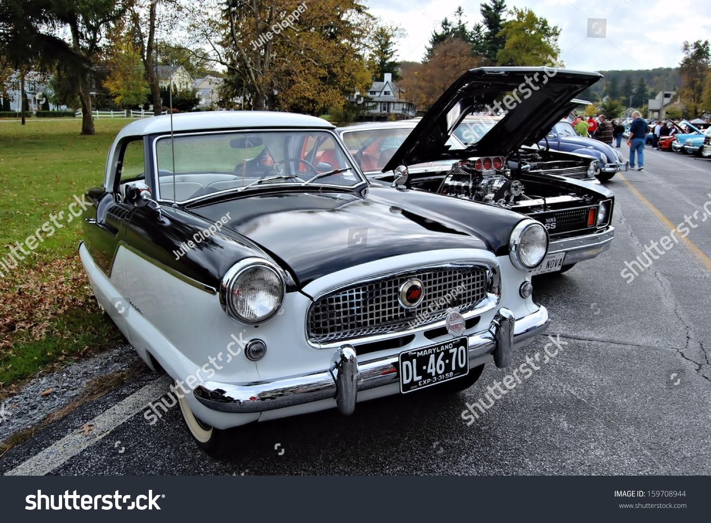 Cascade Md October 19 Vintage Cars Stock Photo 159708944 - Shutterstock