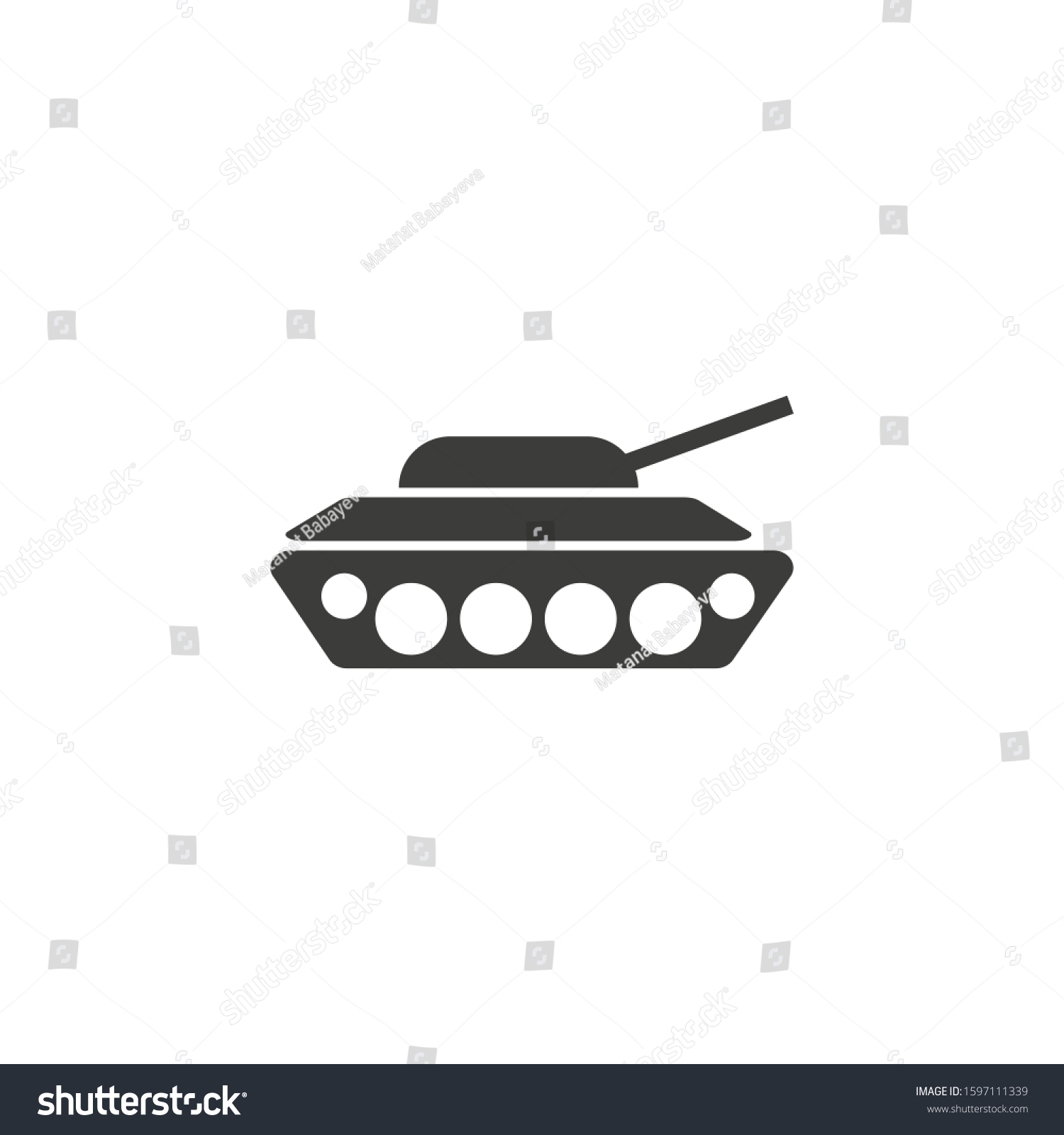 tank icon trendy flat style isolated stock vector royalty free 1597111339 shutterstock