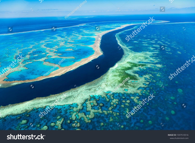 Great Barrier Reef. Whitsundays. Queensland Australia #1597510516