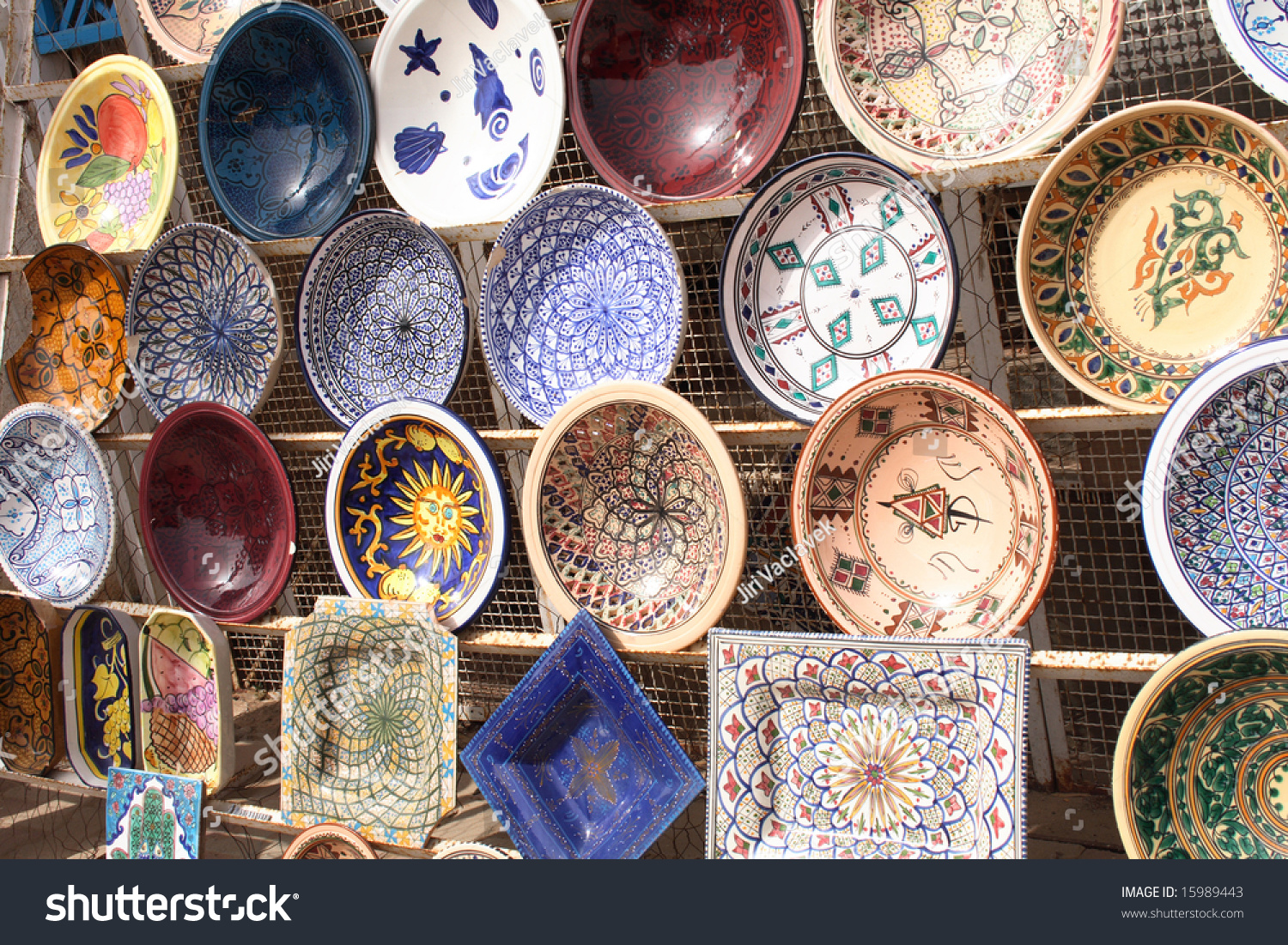 & Tunisian Pottery Stock Photo (Royalty Free) 15989443 - Shutterstock