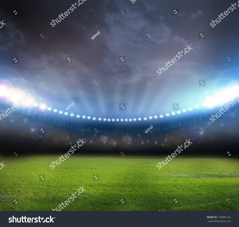 stadium in lights  #159896123