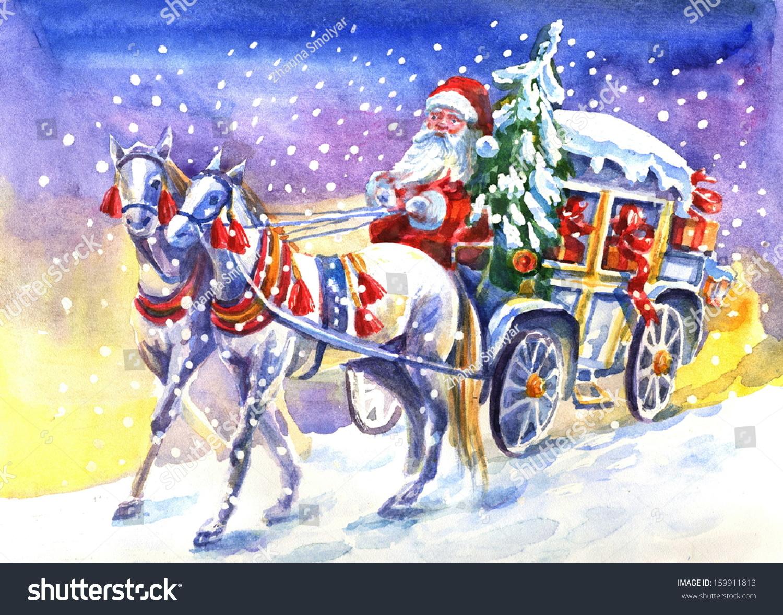 Лошади деда мороза своими руками