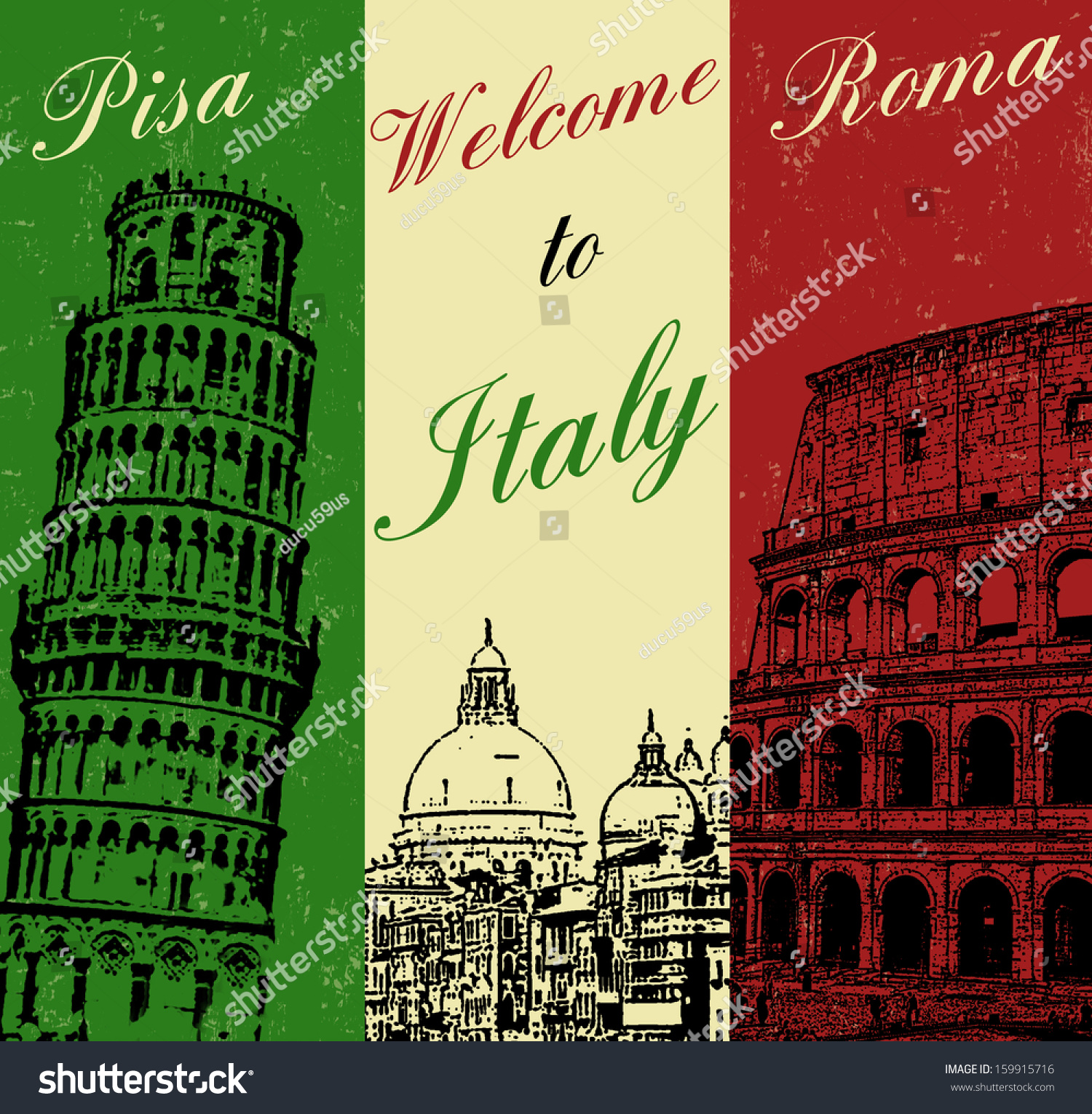 how to say welcome to italy in italian