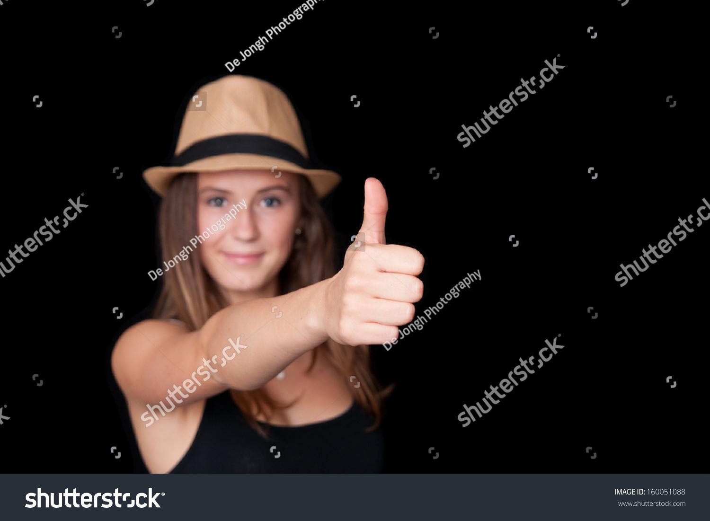 Dutch girl thumb