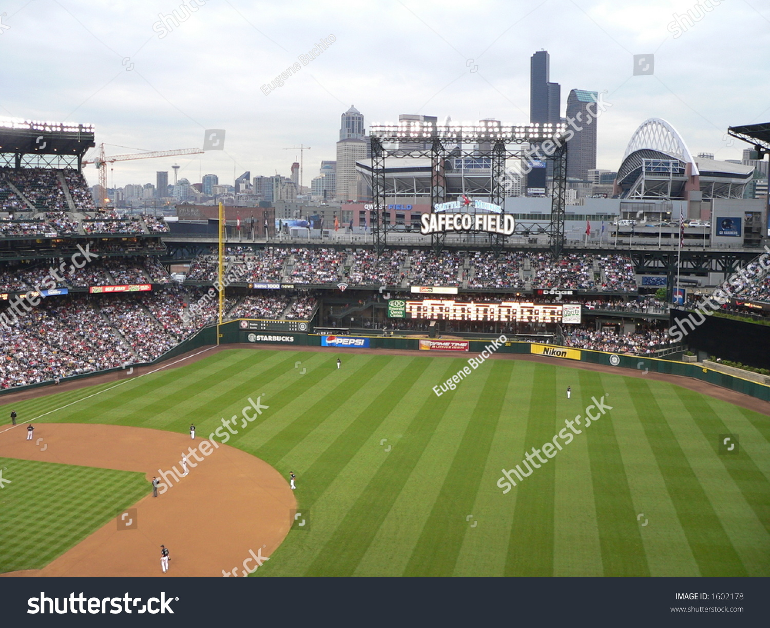 Seattle Map Safeco Field Picture Ideas References