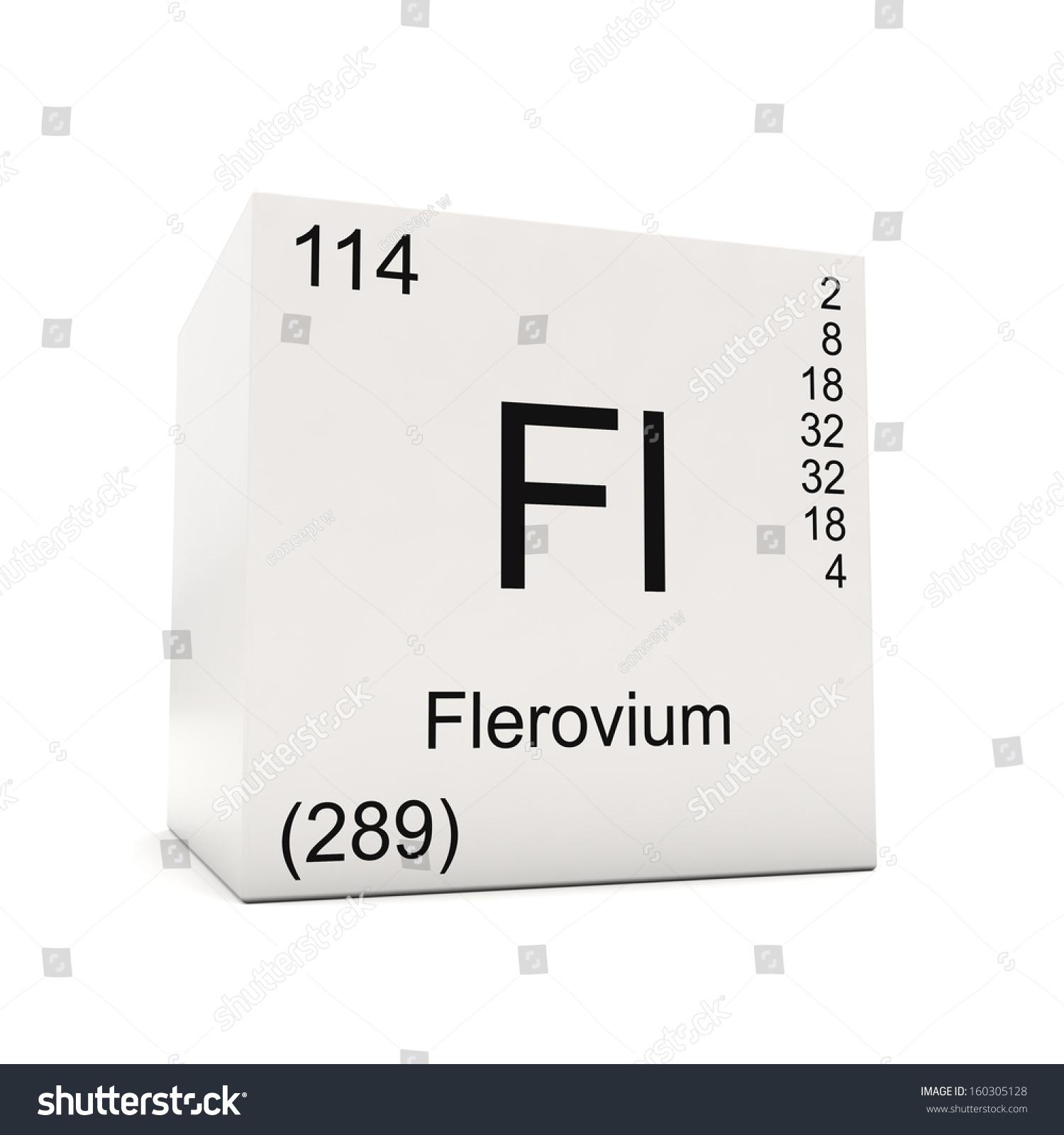 Flerovium element flerovium fl element 114 menu0027s tshirt l flerovium element cube of flerovium element the periodic table isolated on white background l gamestrikefo Images