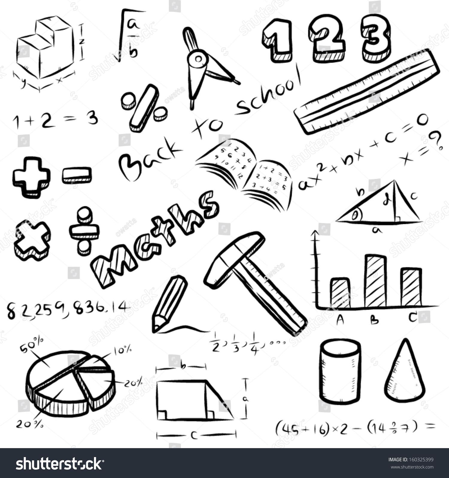 Set mathematics symbol equipment maths subject stock vector set of mathematics symbol and equipment maths subject at school cartoon vector and illustration biocorpaavc Gallery