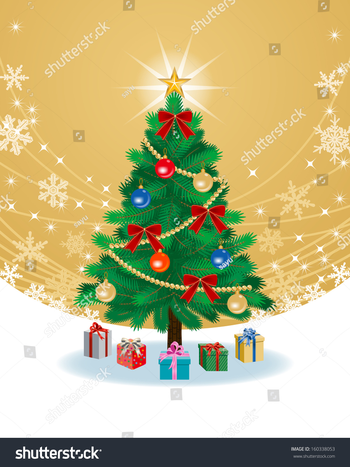 Contemporary Christmas Tree Color In Pattern - Coloring Page ...