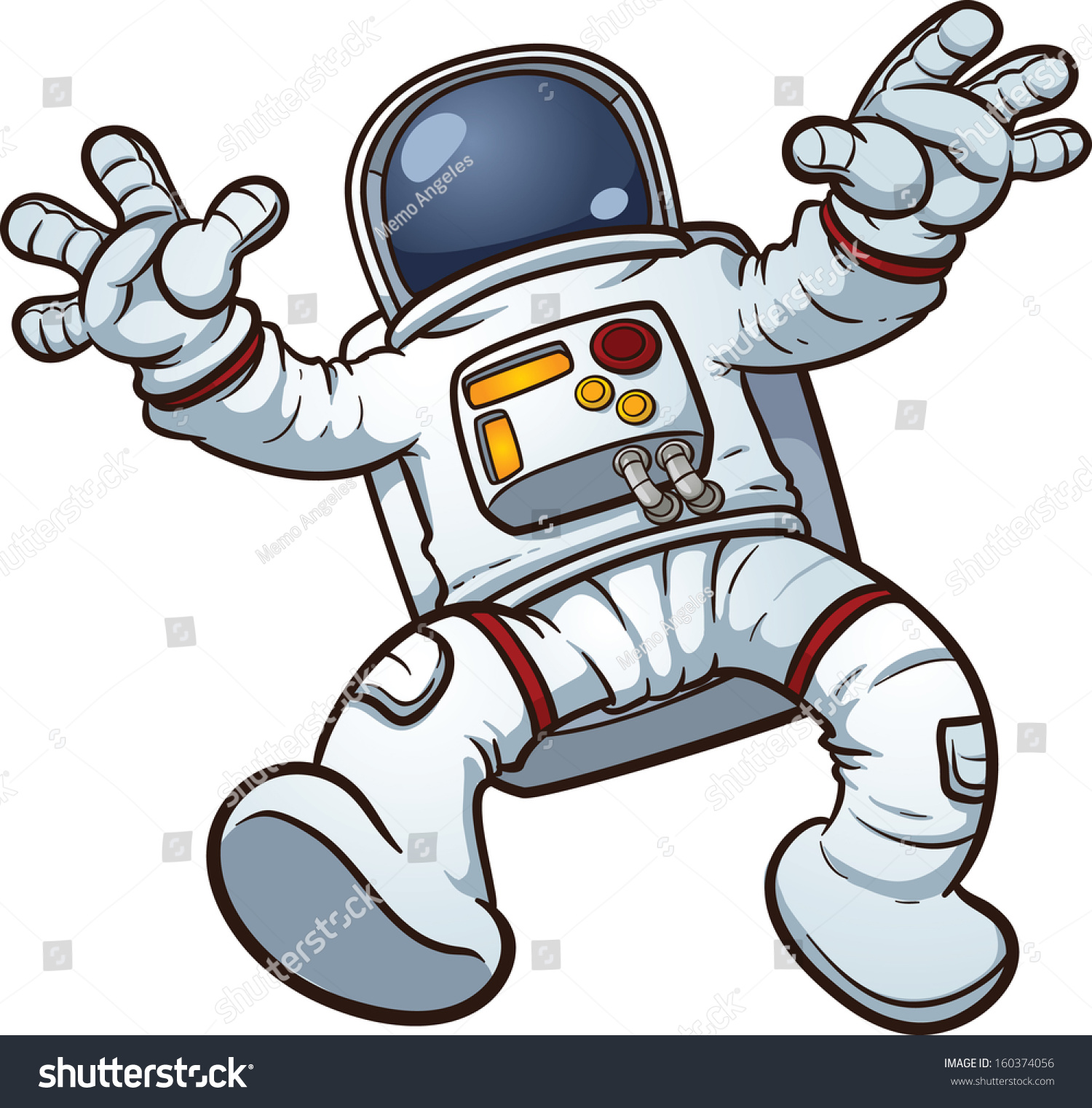 Astronaut Clip Art Vec...