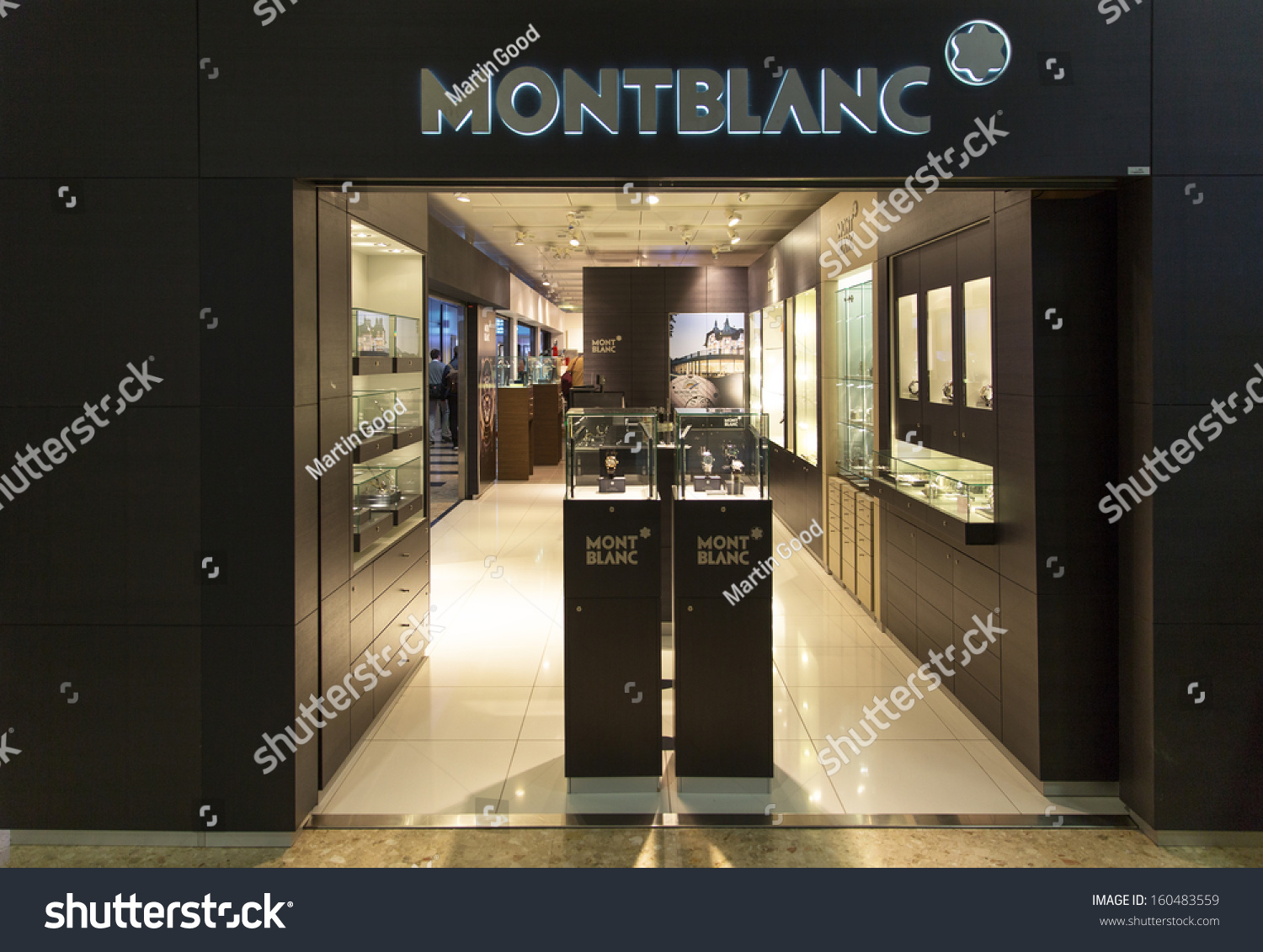 Geneva october 21 a montblanc outlet october 21 2013 for Jewelry stores in geneva switzerland
