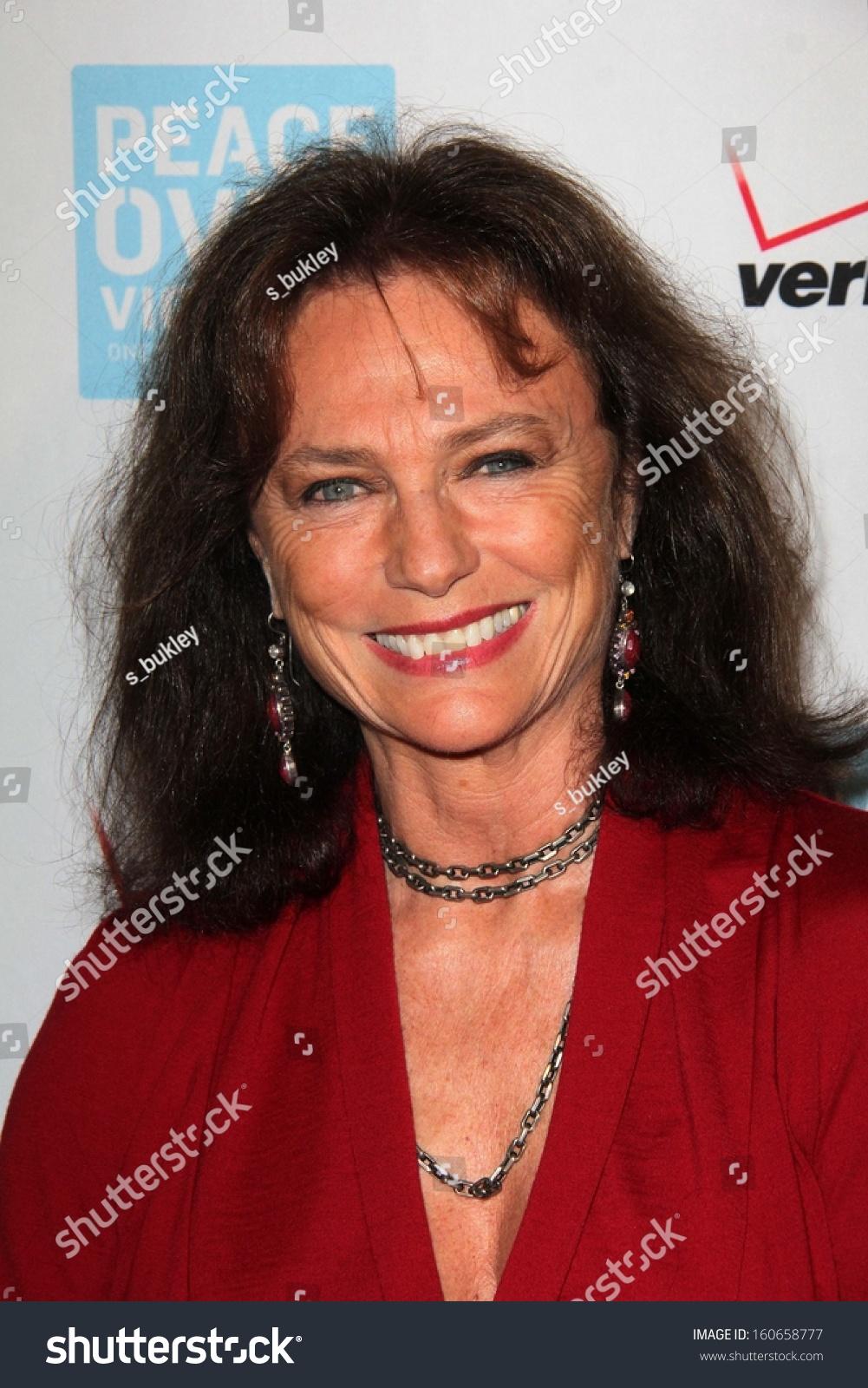 Jacqueline Bisset Peace Over Violence 42nd Stock Photo Edit Now