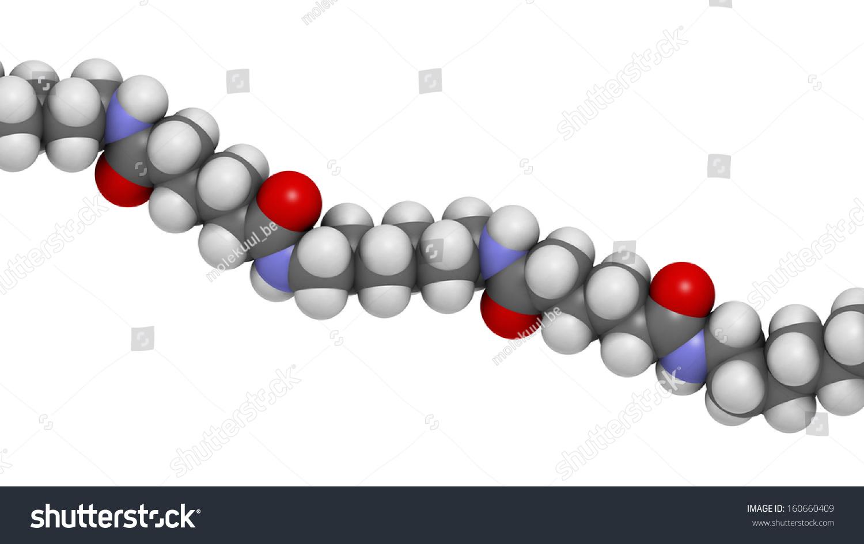 nylon nylon66 plastic polymer chemical structure