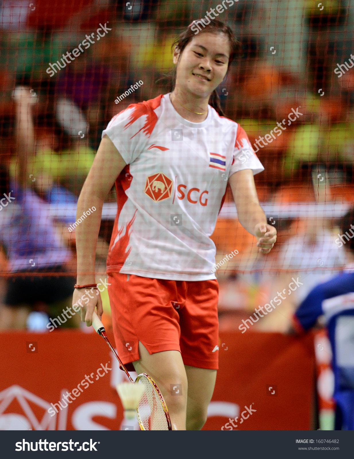 Bangkokthaoct30busanan gbamrungphan During Badminton Scg Bwf