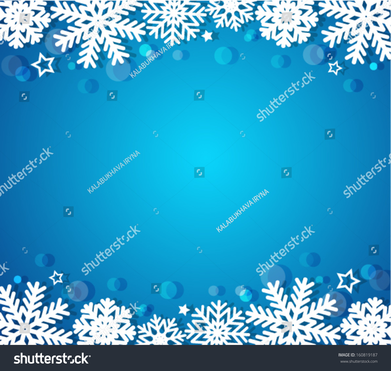 blue christmas background - Blue Christmas