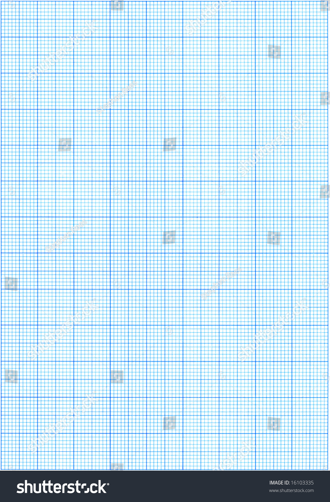high resolution blue graph paper  stock photo 16103335