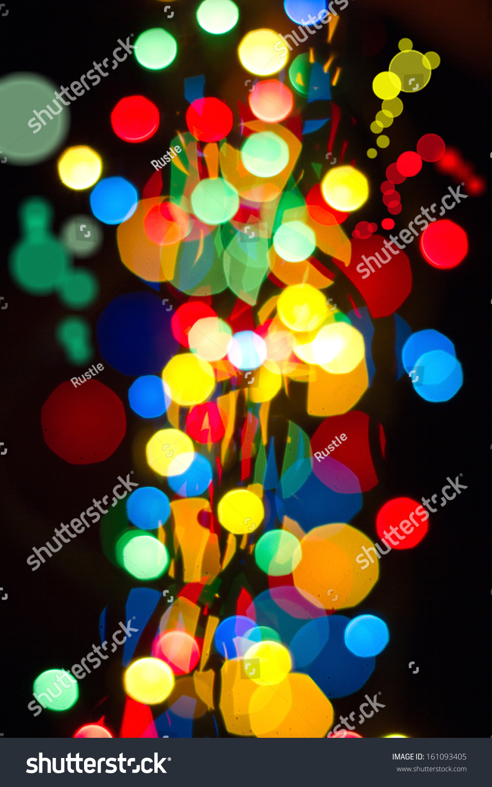 multicolored glowing background christmas card abstract