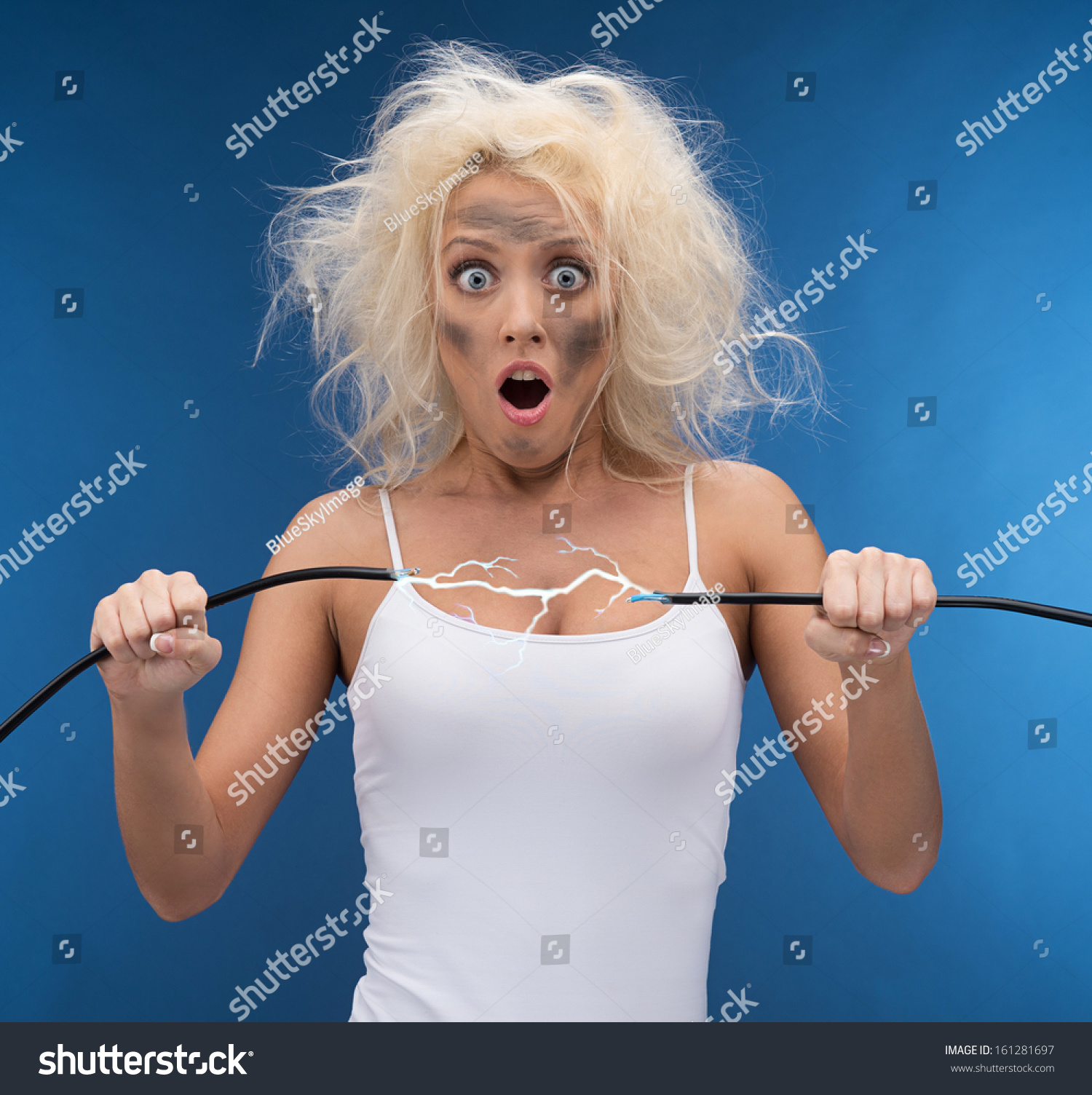 http://image.shutterstock.com/z/stock-photo-funny-girl-having-problem-with-electricity-electrical-shock-161281697.jpg