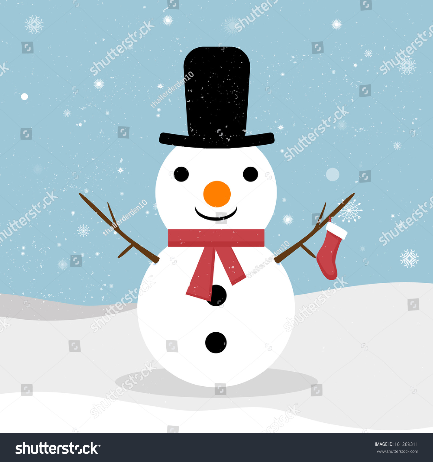 snowman vector snowman snowman greeting cute christmas greeting card with snowman greeting