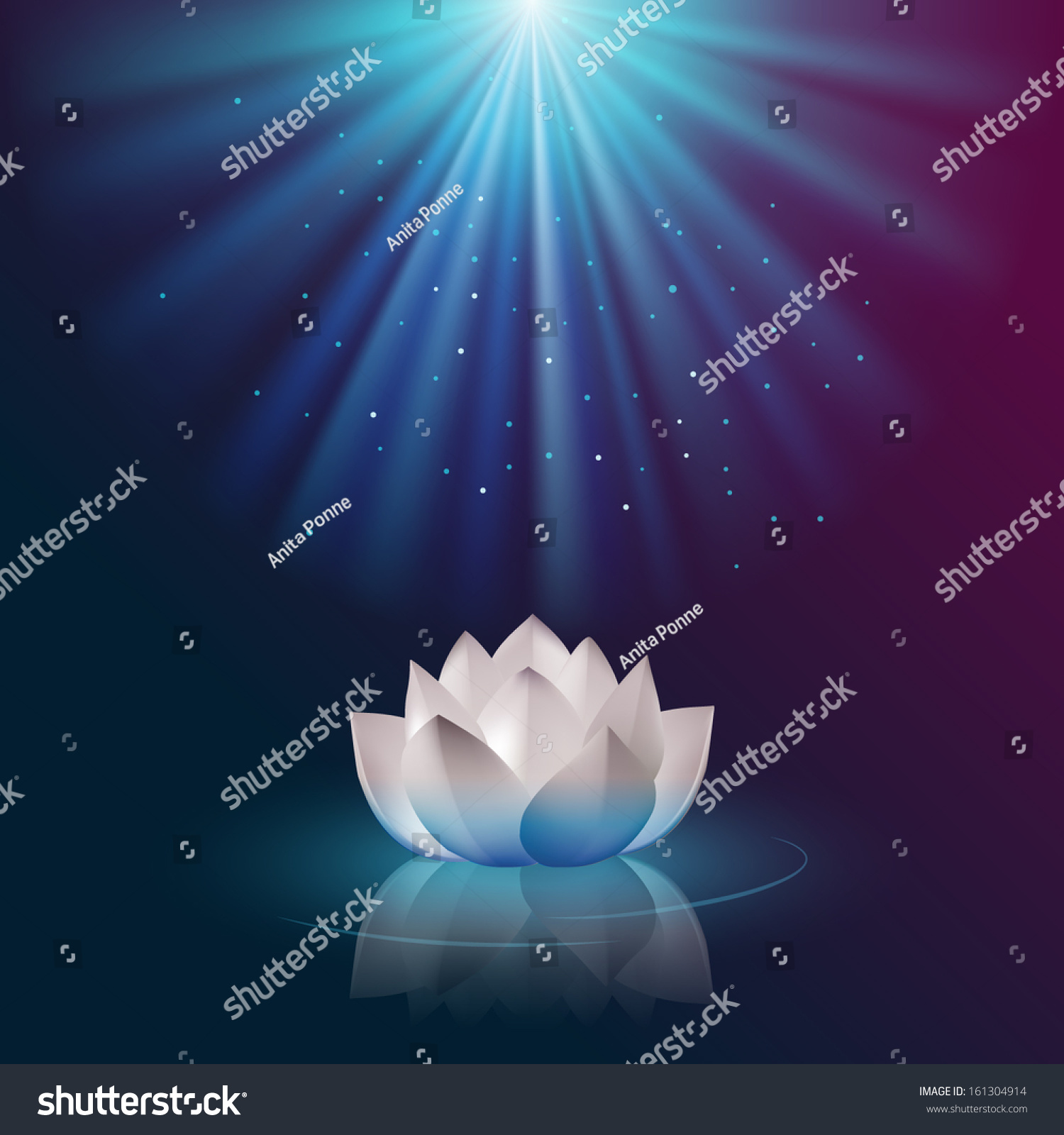 Lotus flower eps 10 vector stock vector royalty free 161304914 lotus flower eps10 vector izmirmasajfo