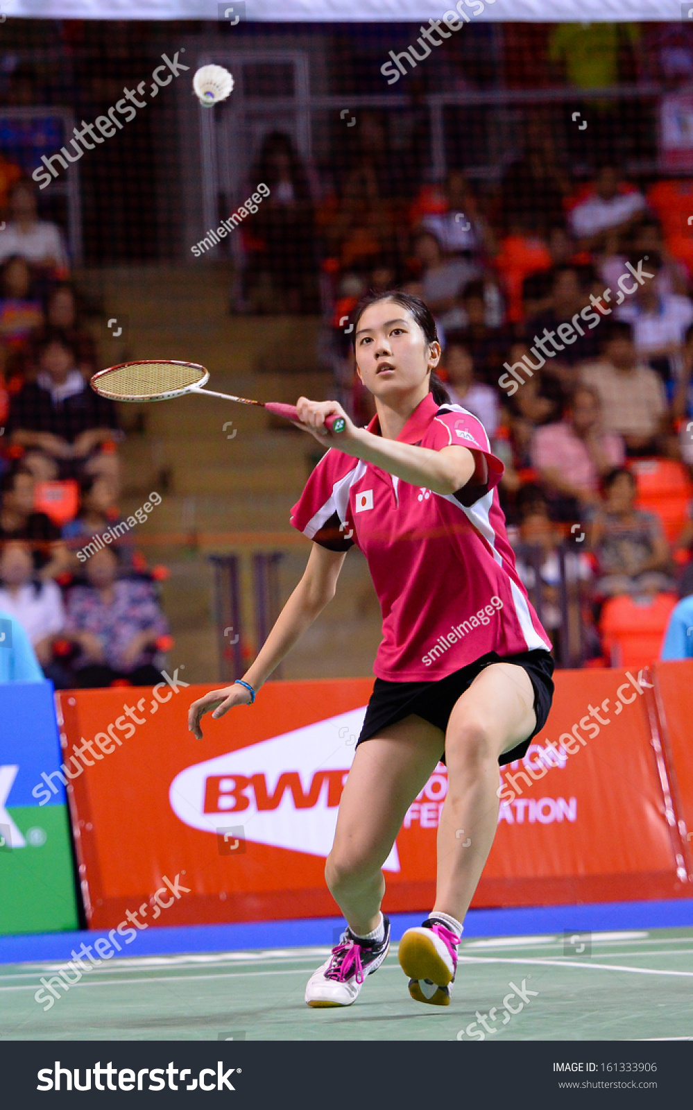 Bkkthanov3aya Ohori During Her Womens Singles Stock