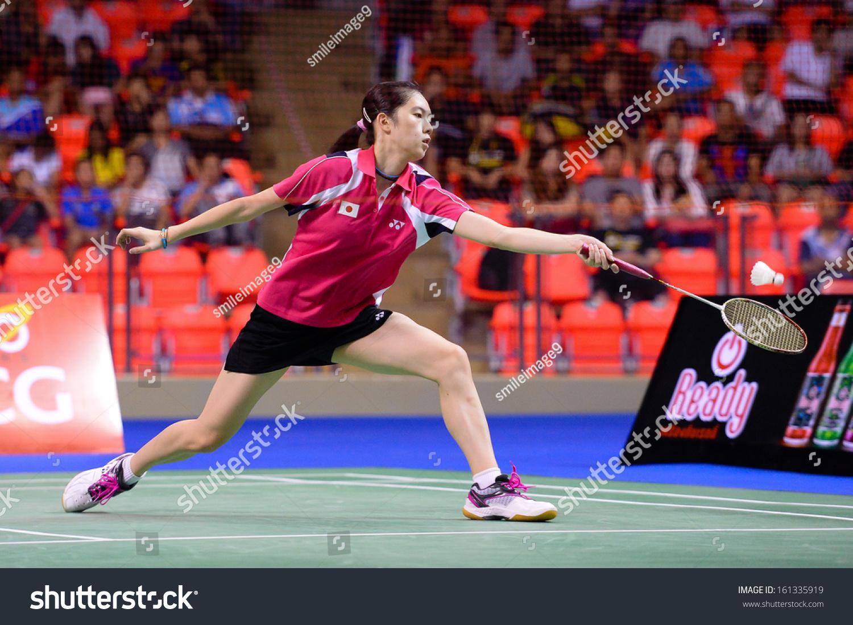 Bkkthanov3aya Ohori During Her Womens Singles Stock