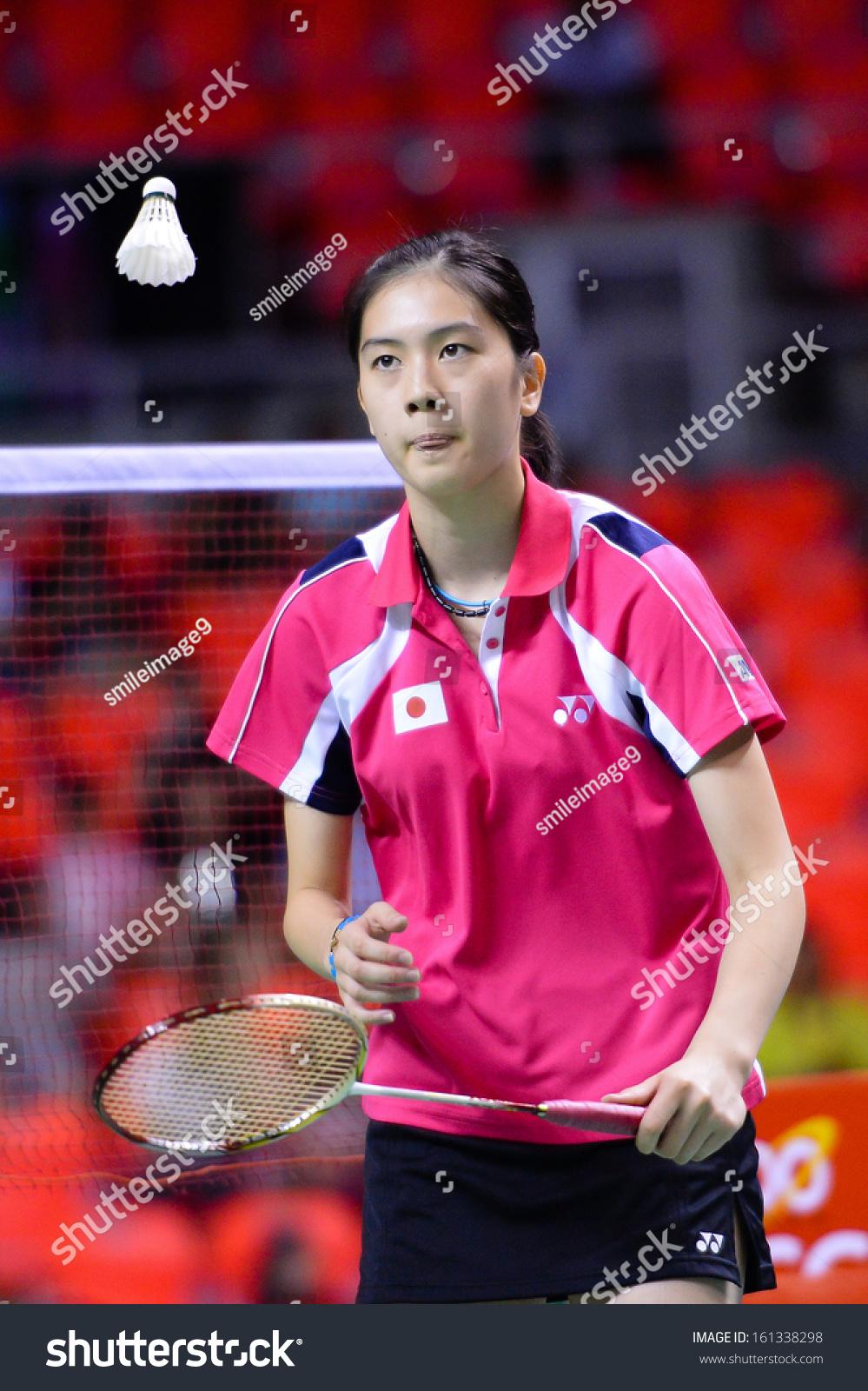 Bkkthanov3aya Ohori During Her Women Singles Stock