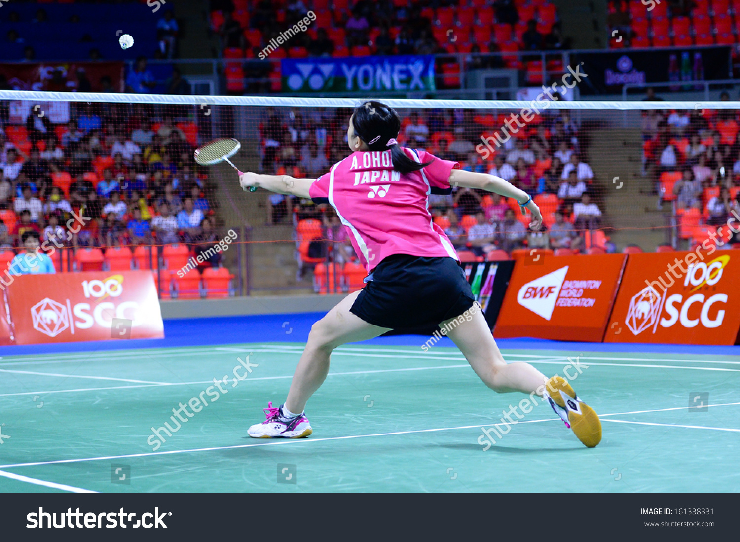 Bkkthanov3aya Ohori During Her Women Singles Stock