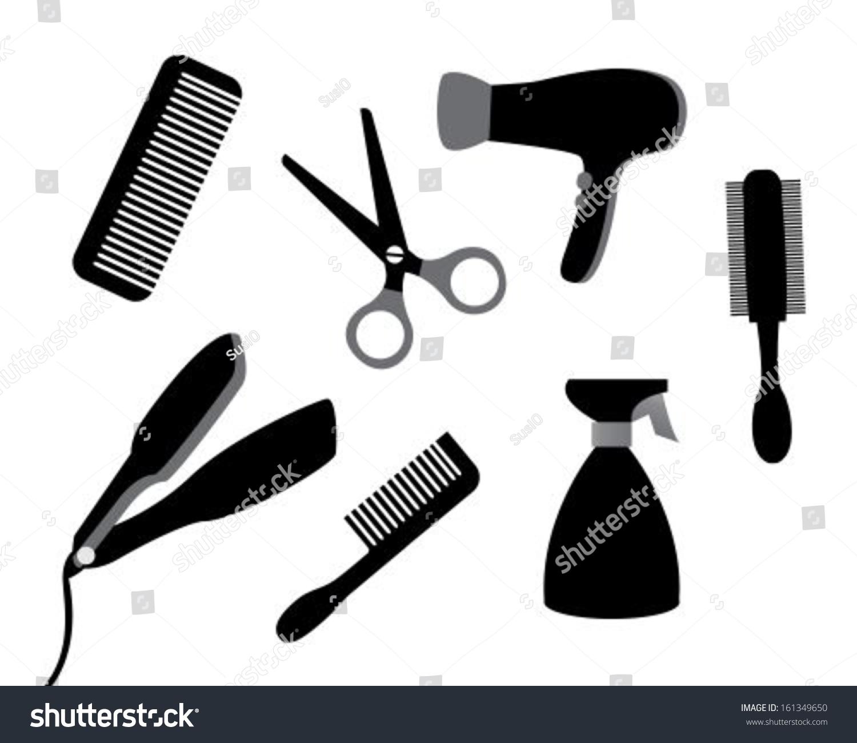 hair supplies clipart - photo #38