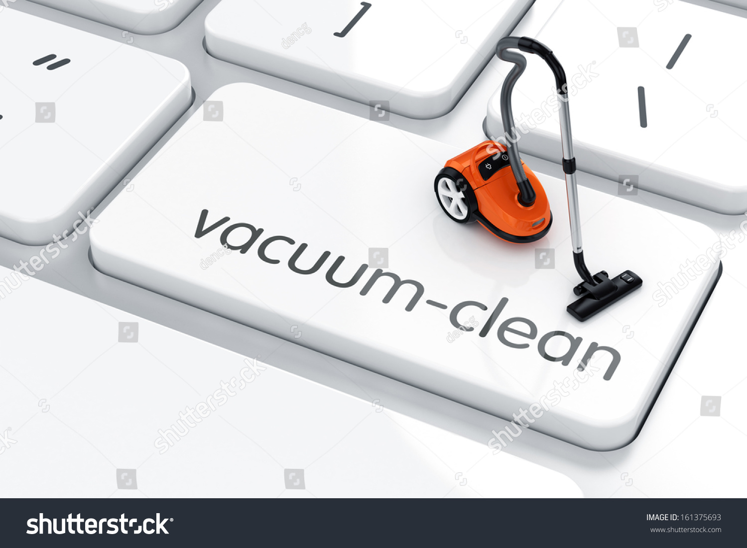 3d render vacuum cleaner symbol icon stock illustration 161375693 3d render of vacuum cleaner symbol icon on the keyboard vacuum clean concept biocorpaavc
