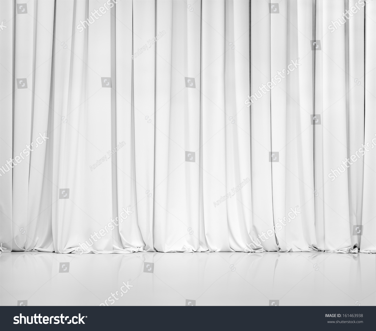 White curtain texture - White Curtain Or Drapes Background