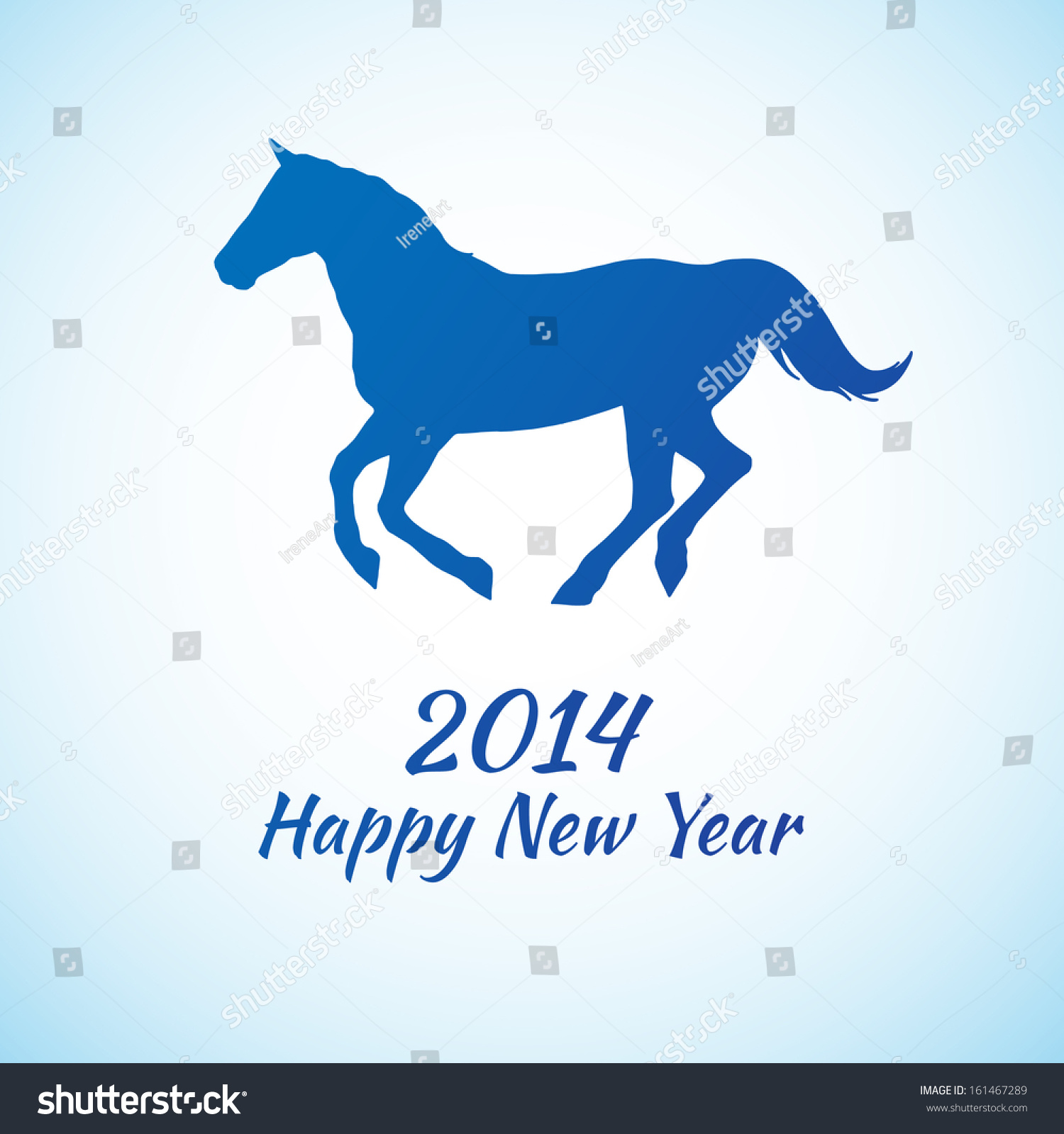 Vector background stylized silhouette horse symbol stock vector vector background with stylized silhouette horse symbol of new year 2014 buycottarizona