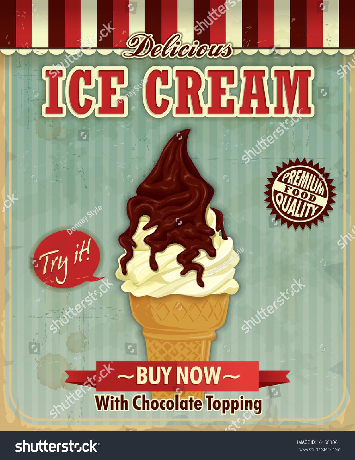 Design poster ice cream - Pin By Joanne Elder On Miniature Shop Ice Cream Pinterest Miniatures