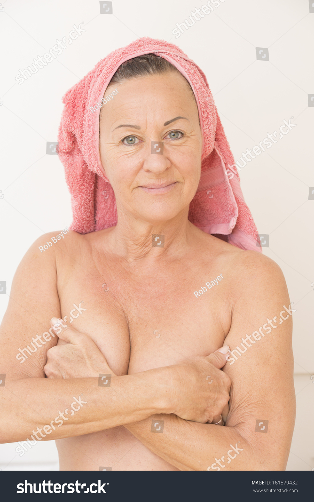 wonderful older nude woman