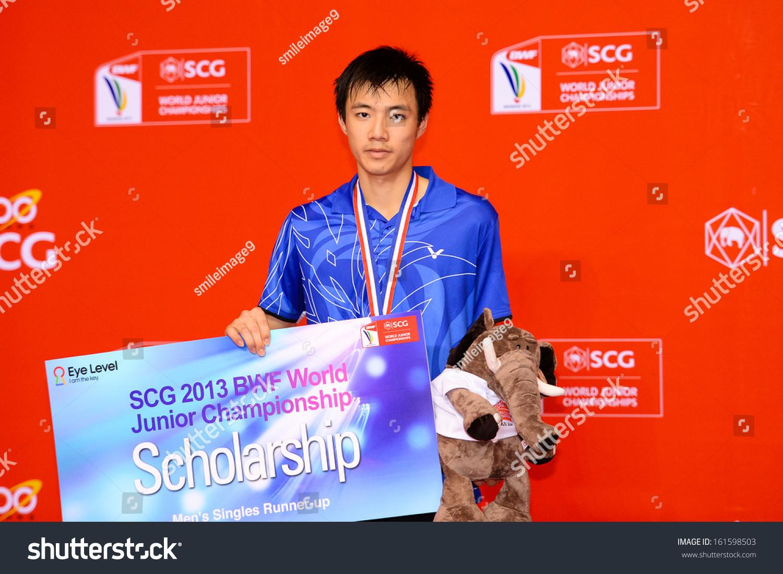 Bkkthanov3tzu Wei Wang Taipei Pose Stock