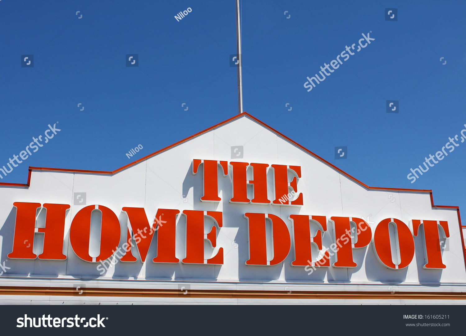 Etobicoke Canada July 24 Home Depot Stock Photo Edit Now 161605211