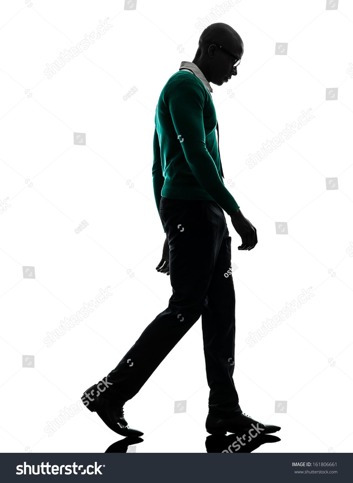 One African Black Man Walking Looking Stock Foto 161806661 ...   1169 x 1600 jpeg 196kB