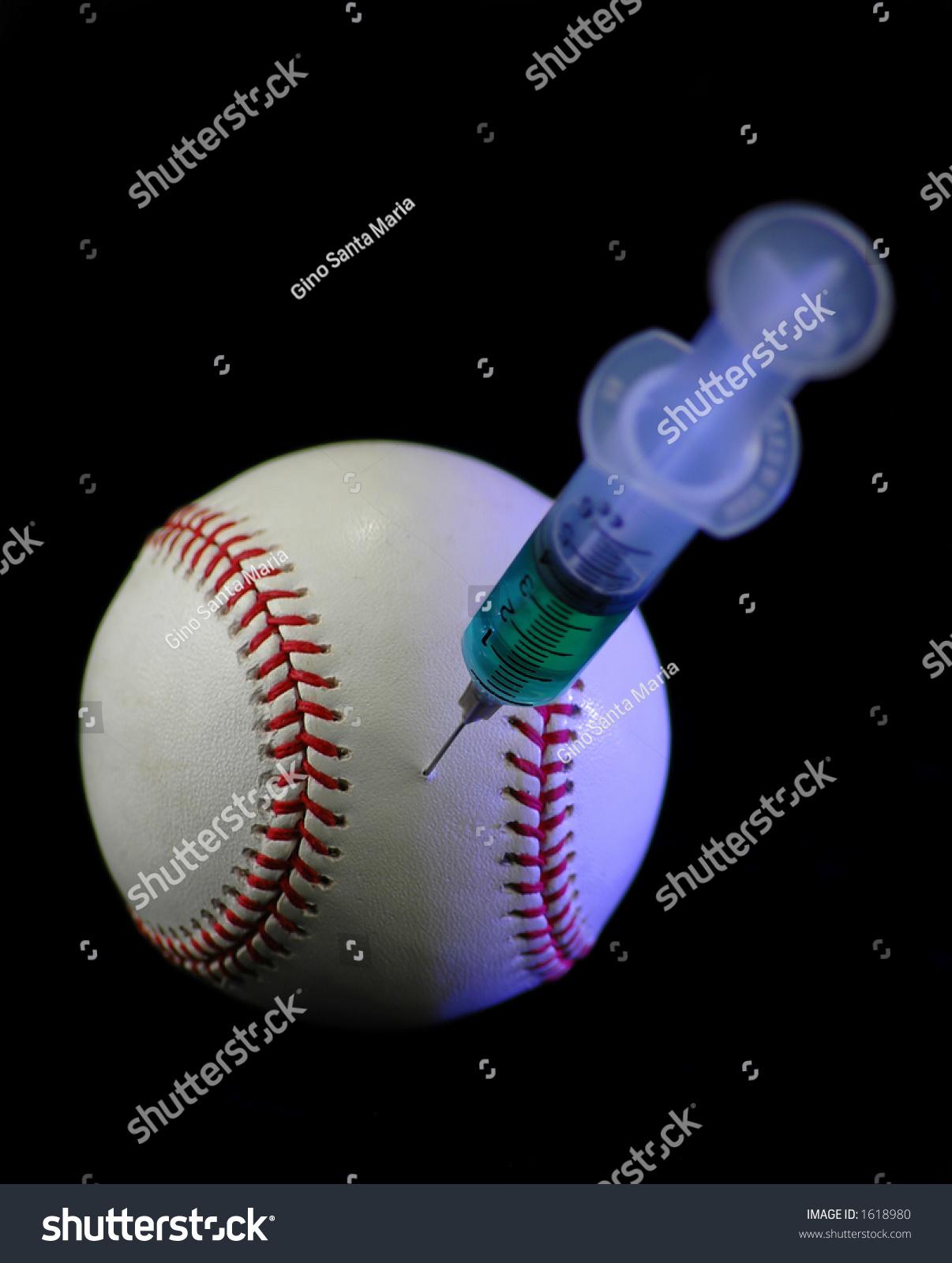 Stock Photo Steroids Baseball