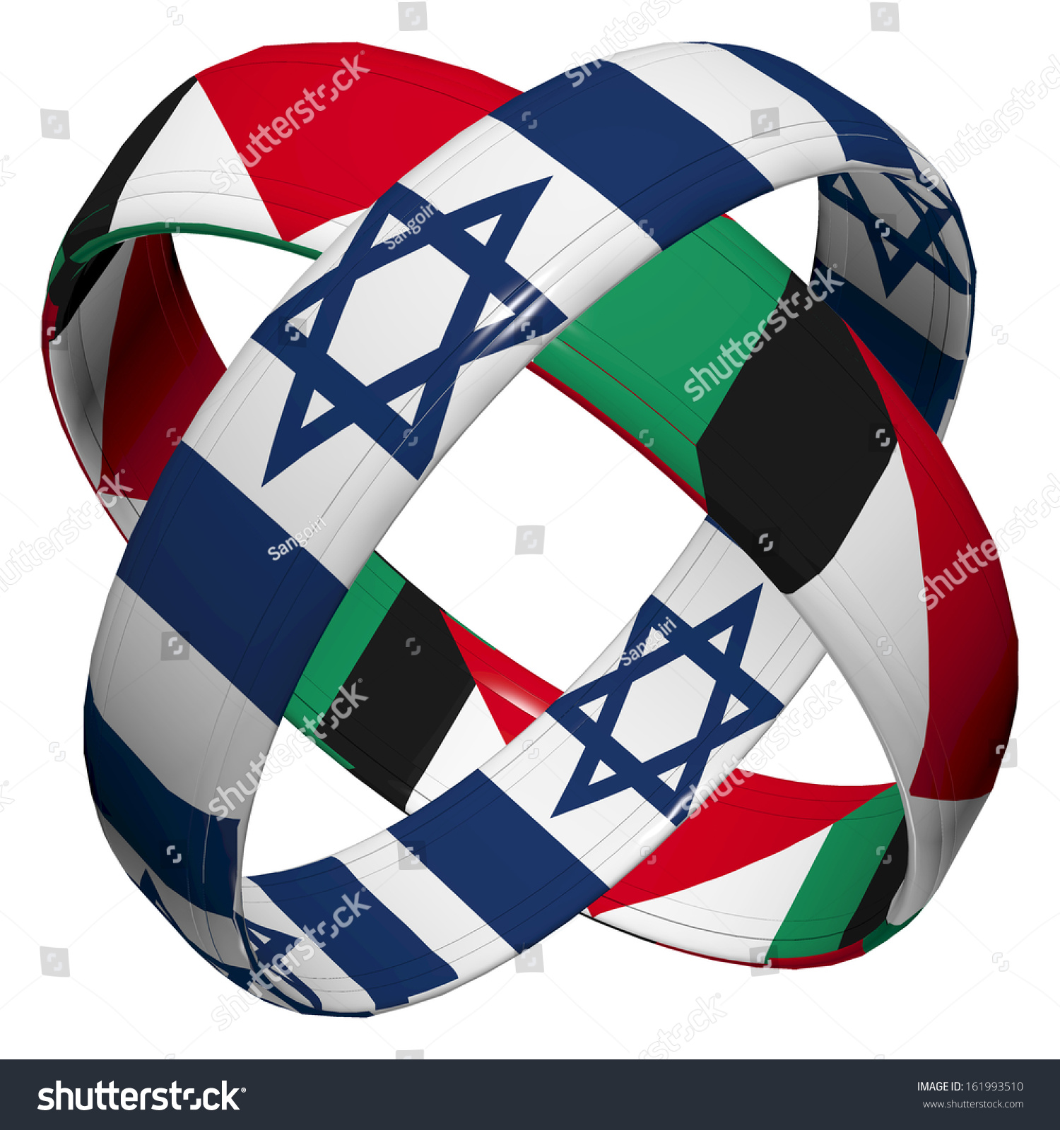 Israel palestine symbol appeal peaceful coexistence stock symbol and appeal for peaceful coexistence between the two parties biocorpaavc Choice Image