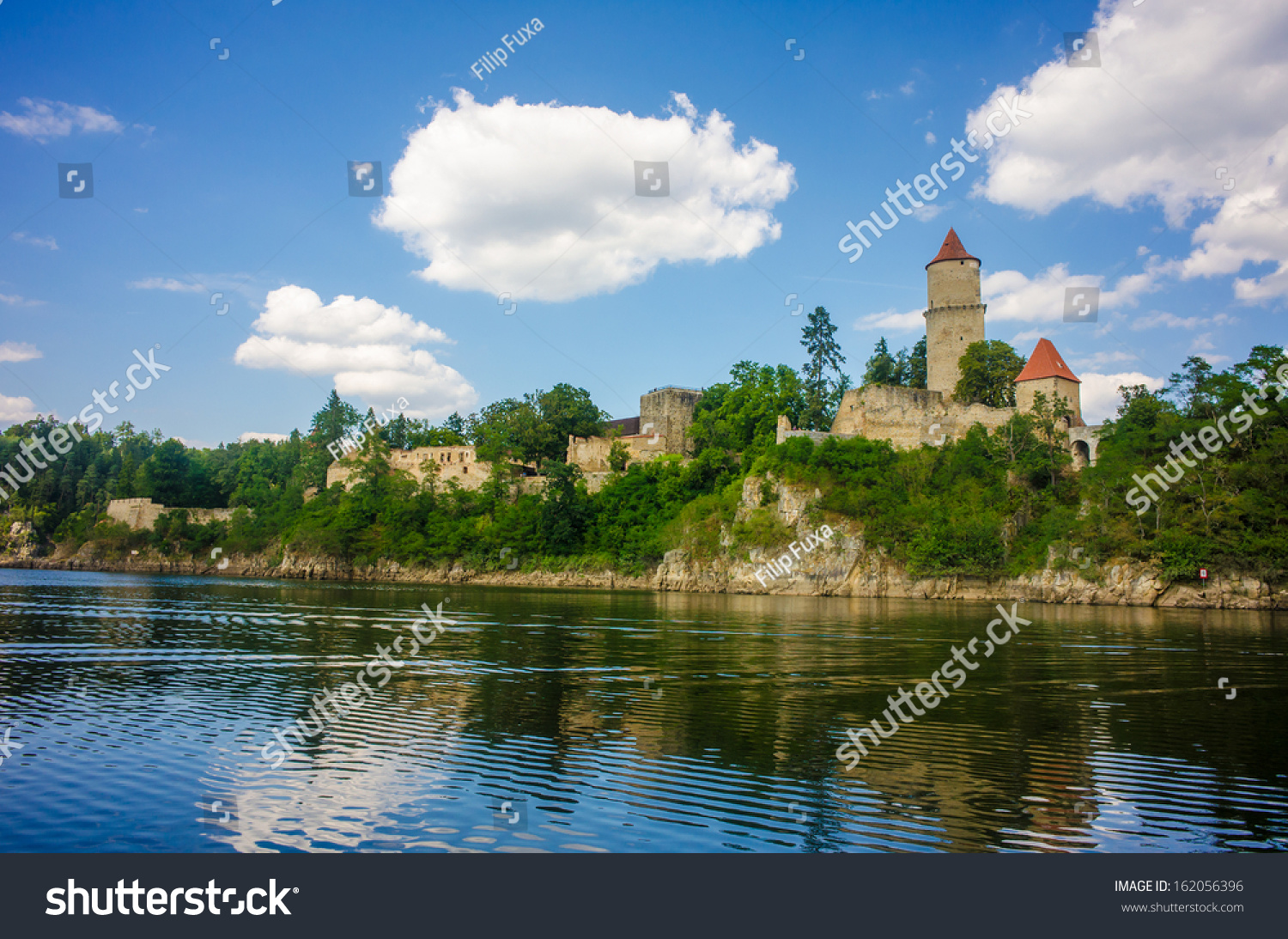 Medieval Castle Zvikov Czech Republic Round Stock Photo Edit Now