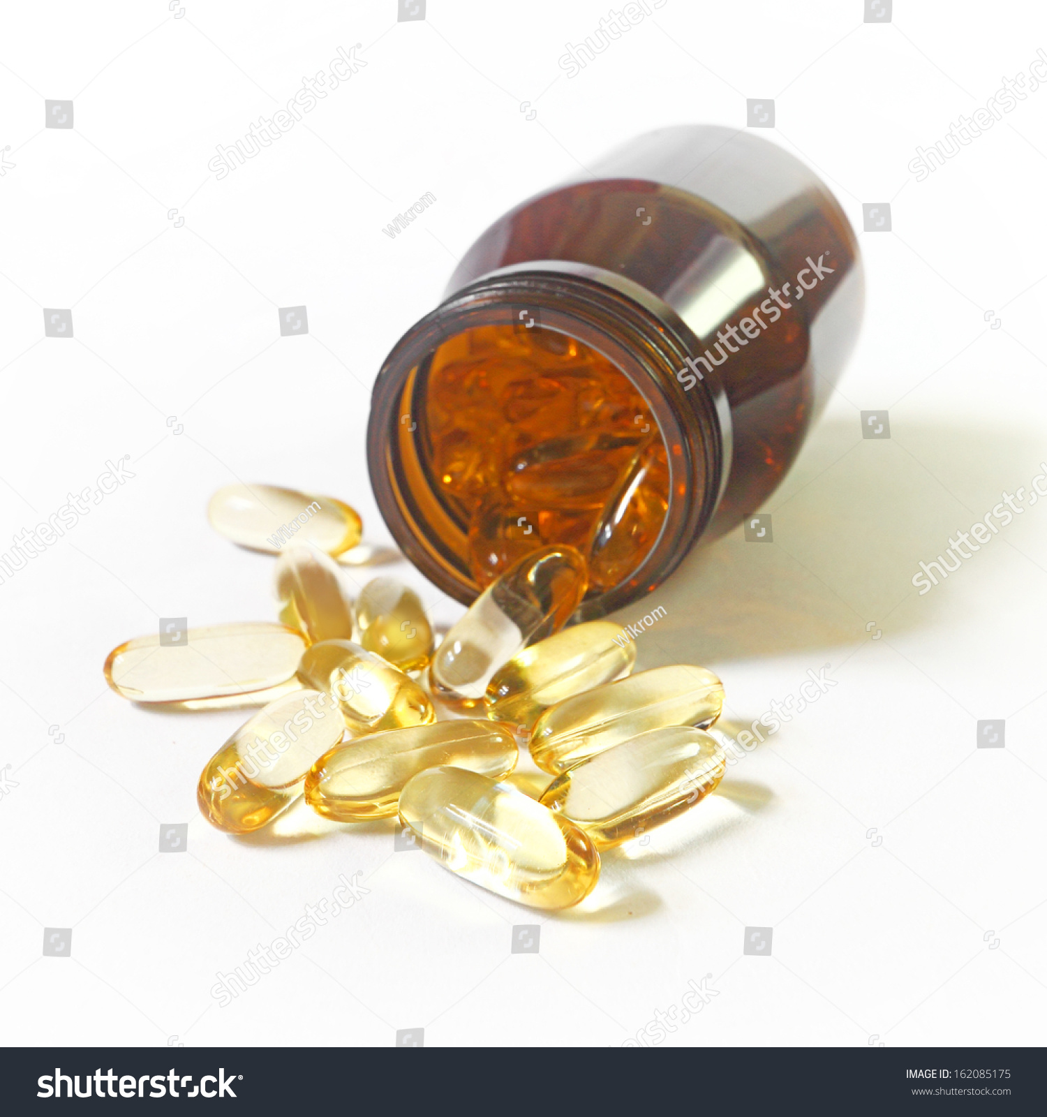 Cod liver oil supplement stock photo 162085175 shutterstock for Do fish have livers