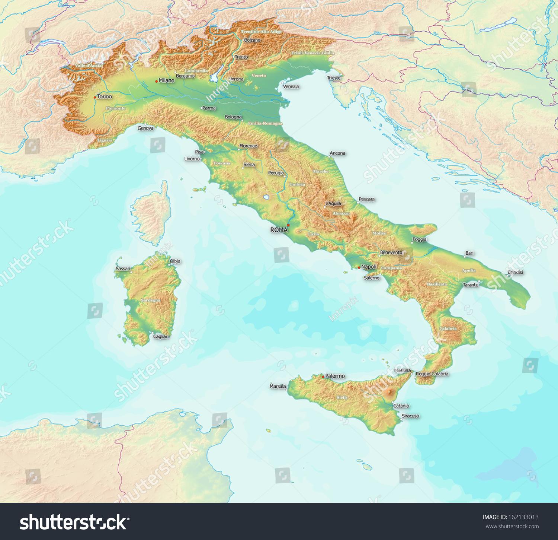 Italy Map 1500.Italy Ecosia