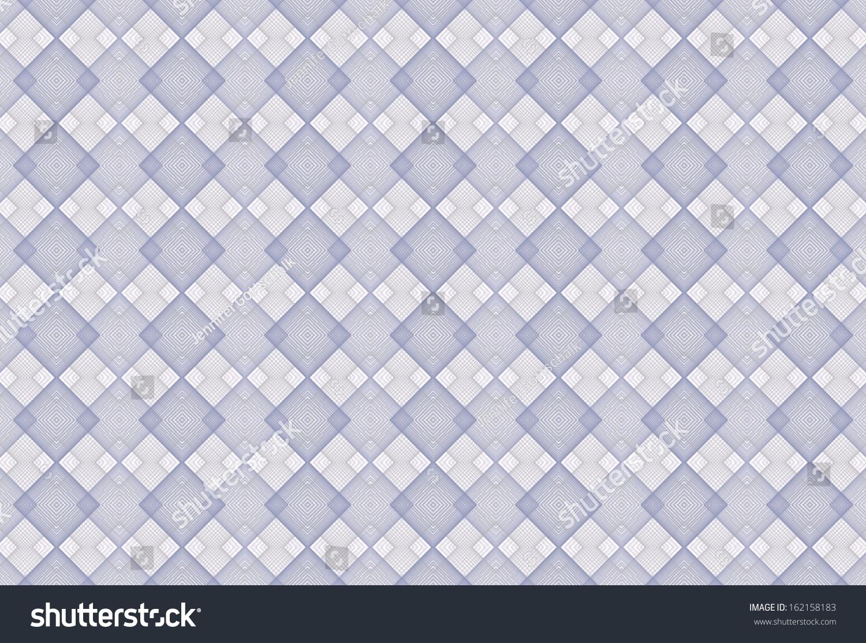 Intricate Silver Blue String Wire Interlocking Stock Illustration ...