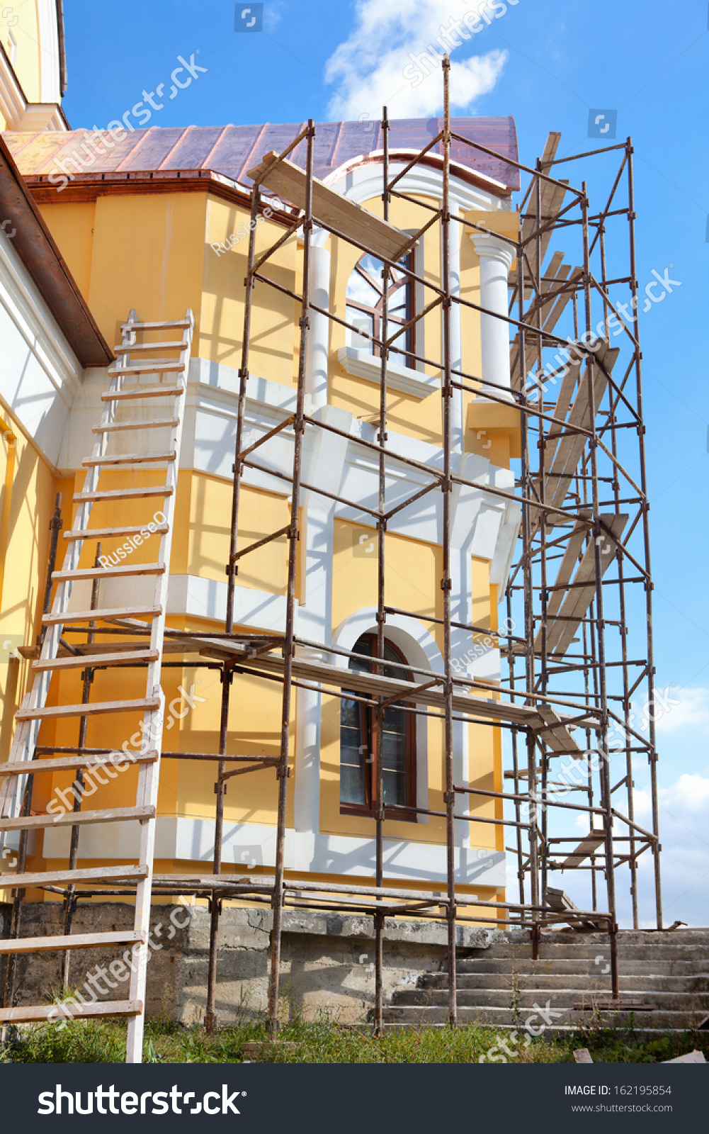 House Reconstruction Stock Photo 162195854 Shutterstock