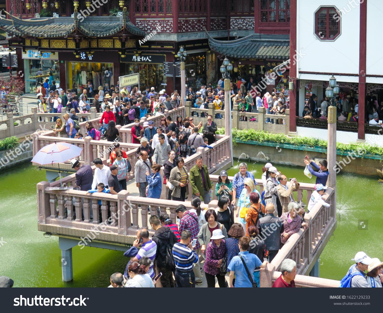 stock-photo-shanghai-china-april-crowded