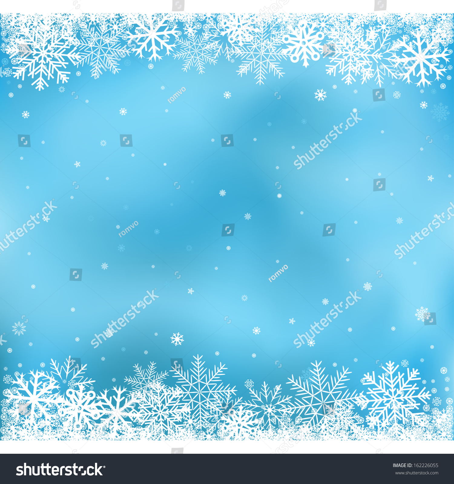 The White Snow On The Blue Mesh Background Winter And