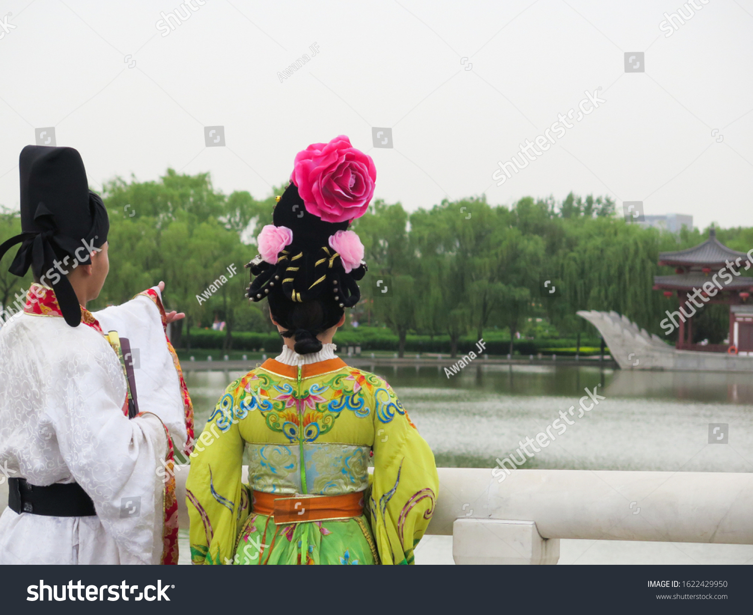 stock-photo-back-view-of-a-couple-wearin