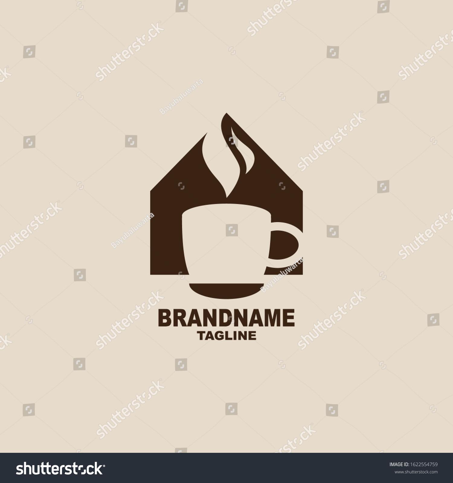 Vector De Stock Libre De Regalias Sobre House Coffee Logo This Era Coffee1622554759