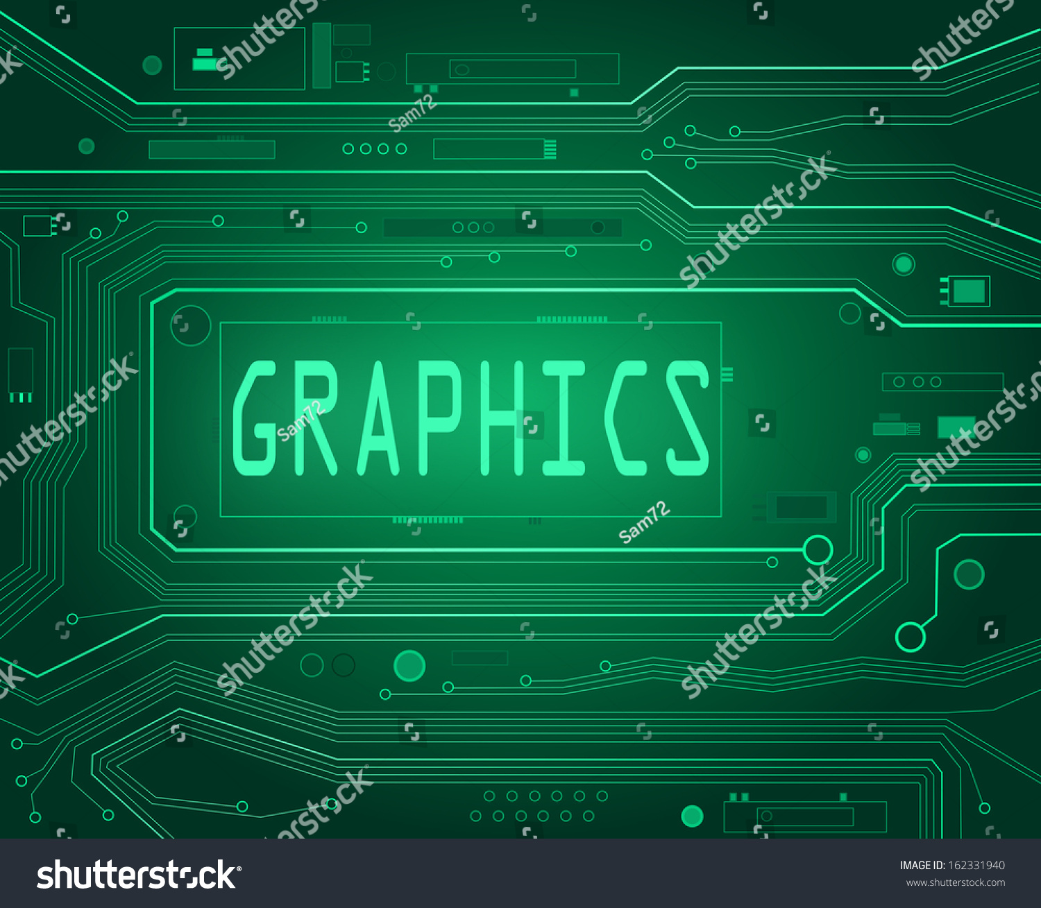 Funky Circuit Board Graphics Crest - Electrical and Wiring Diagram ...