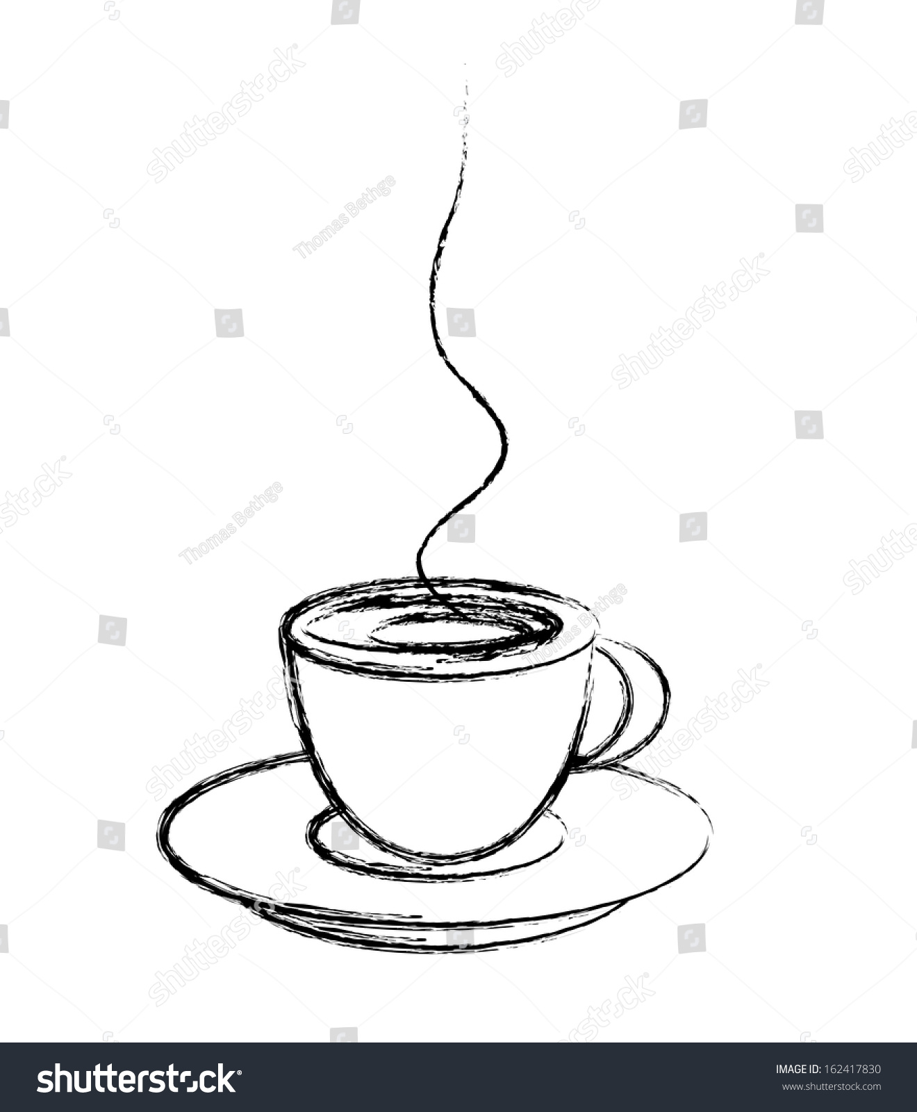 Cup Of Coffee Drawing